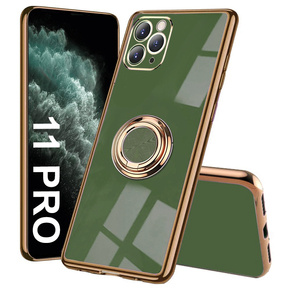 Etui Electro Ring do iPhone 11 Pro, Green