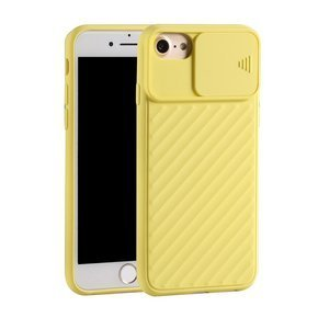 Etui Soft TPU CamShield do SE 2020/8/7/6/6S 4.7 - Yellow