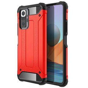 Etui TECH ARMOR do Xiaomi Redmi Note 10 Pro, Red