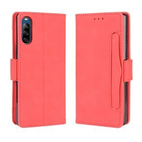 Etui Wallet Flexi Book do Sony Xperia L4 - Card Slot - Red