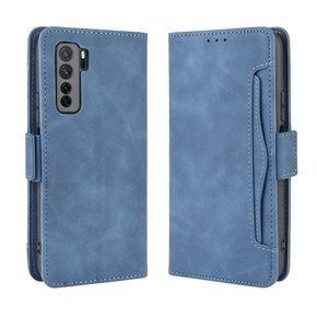 Etui Wallet do Huawei P40 Lite 5G, Card Slot, Blue