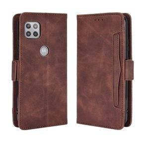 Etui Wallet do Motorola Moto G 5G, Card Slot, Brown