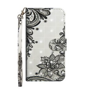 Etui Wallet do Samsung Galaxy A31 - Lace Flowers