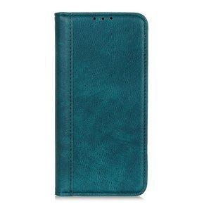Etui Wallet do Xiaomi Redmi Note 9 - Litchi Leather - Baby Blue