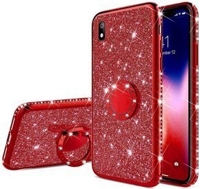 Etui do Huawei Y5 2019 - ERBORD Bling - Red