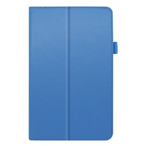 Etui do Lenovo Tab M8 / M8 2G (TB-8505F/8505X / TB-8705F/TB-8705L), Litchi Stand Case, Baby Blue