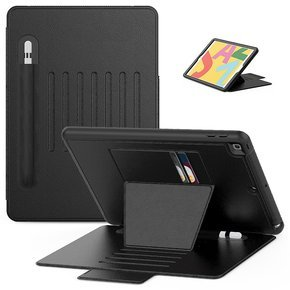 Etui do iPad 10.2, Creative Magnetic Case with Pen Slot, Black