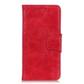 Etui skórzane Wallet do Realme X50 Pro 5G - Red
