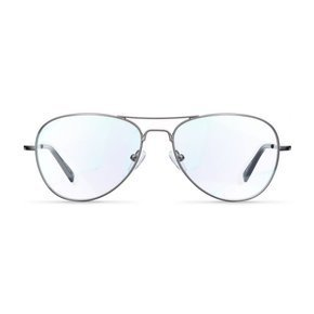 Meller Okulary do komputera z filtrem Blue Light - Ashia Gunmetal