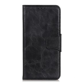 Skórzane Etui Wallet do Xiaomi Redmi Note 9 - Black